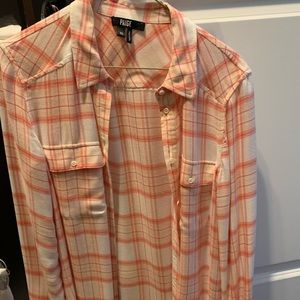 "Paige Brand ""Flannel"" Button Down"